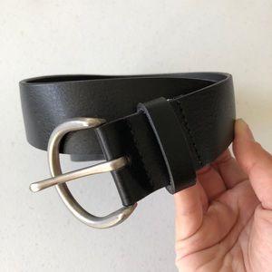 GAP PU Coated Split Leather Belt Womens Sz M